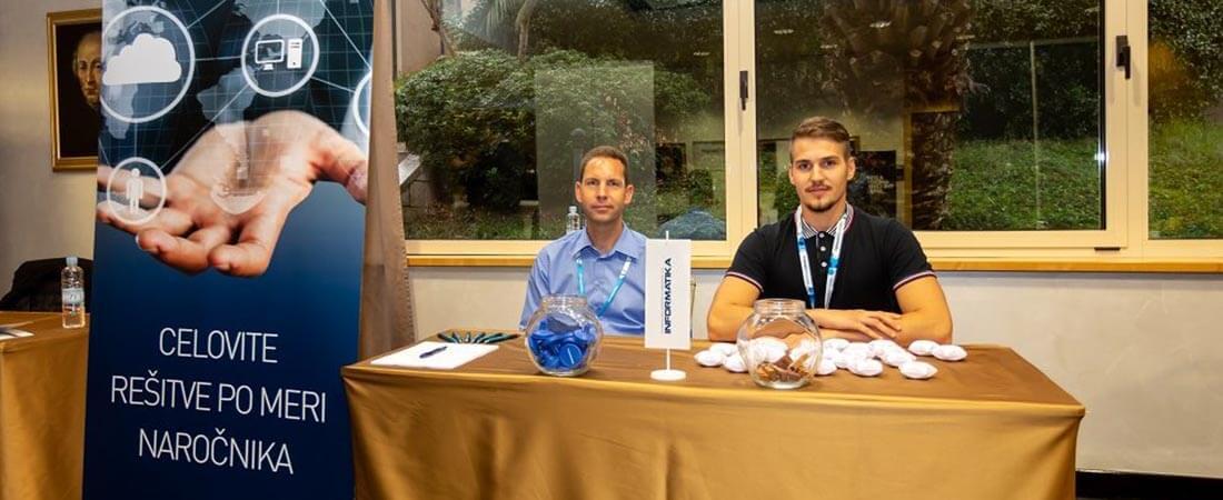 Sodelovanje na konferenci Informacijska varnost