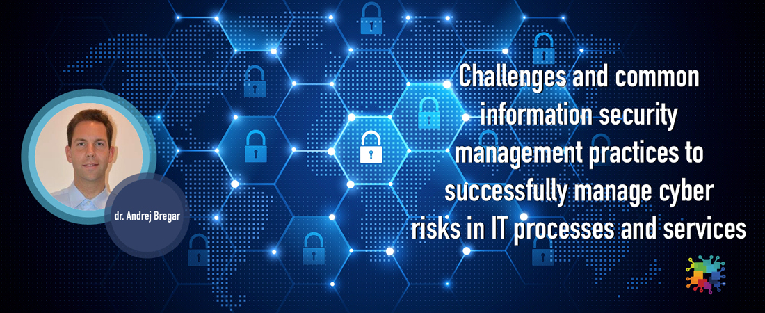 Challenges and common information security management practices
